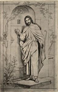 German Jesus Knocking at Door